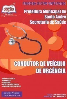 CONDUTOR DE VEÍCULO DE URGÊNCIA