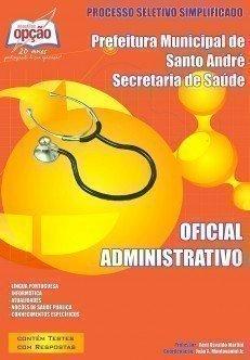 Apostila Oficial Administrativo - Concurso Secretaria De Saúde De Santo André ...
