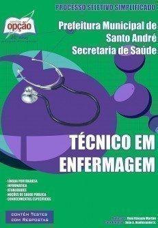 Apostila Técnico De Enfermagem - Concurso Secretaria De Saúde De Santo André ...
