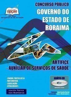 Apostila Artífice / Auxiliar De Serviços De Saúde - Concurso Secretaria De Sa...