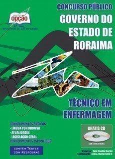 Apostila Técnico Em Enfermagem - Concurso Secretaria De Saúde Do Estado De Ror...