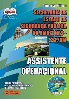 Apostila SSP AM | Assistente Operacional