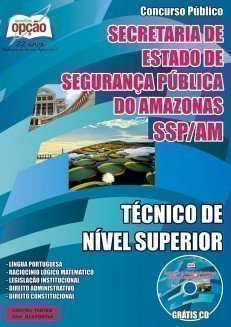 Apostila SSP AM | Técnico de Nível Superior
