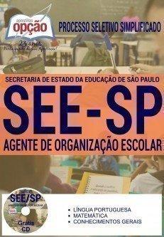apostila concurso seesp Agente de Organização Escolar.