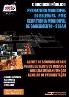 Apostila Diversos Cargos - Concurso Secretaria Mun. De Saneamento Belém / Pa (s...