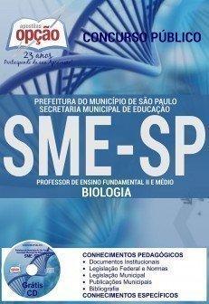 apostila PROFESSOR DE BIOLOGIA sme sp.
