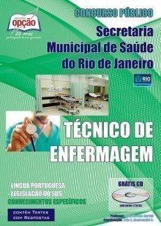 Apostila Técnico Em Enfermagem - Concurso Secretaria  Municipal De Saúde Do Ri...