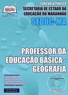 PROFESSOR DA EDUCAÇÃO BÁSICA - GEOGRAFIA