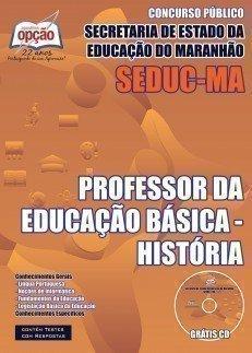 PROFESSOR DA EDUCAÇÃO BÁSICA - HISTÓRIA