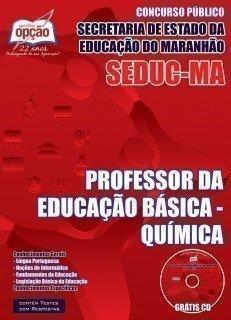PROFESSOR DA EDUCAÇÃO BÁSICA - QUÍMICA