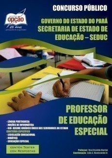 Apostila Professor De Educação Especial - Concurso Seduc / Pa...