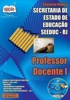 Apostila Professor DOCENTE I Seeduc RJ - Magistério