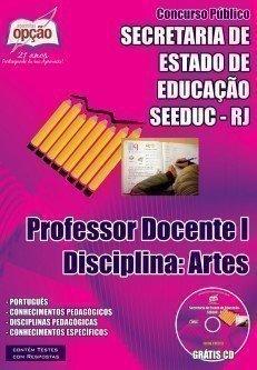 PROFESSOR DOCENTE I – DISCIPLINA: ARTES