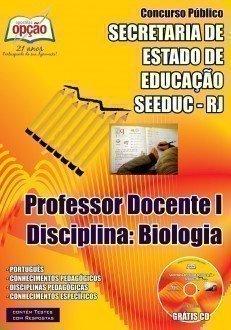 PROFESSOR DOCENTE I – DISCIPLINA: BIOLOGIA