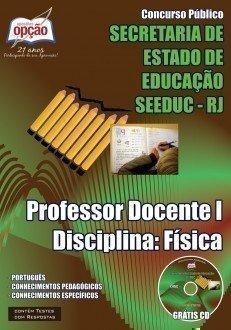 PROFESSOR DOCENTE I – DISCIPLINA: FÍSICA