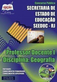 PROFESSOR DOCENTE I - DISCIPLINA: GEOGRAFIA