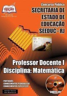 PROFESSOR DOCENTE I – DISCIPLINA: MATEMÁTICA
