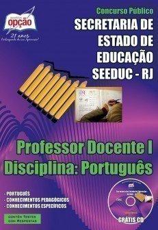 PROFESSOR DOCENTE I – DISCIPLINA: PORTUGUÊS