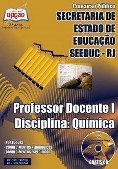 PROFESSOR DOCENTE I – DISCIPLINA: QUÍMICA