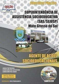 Apostila Agente De Ações Socioeducacionais - Concurso Sejusp / Ms...