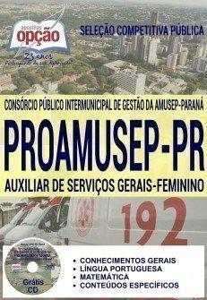 AUXILIAR DE SERVIÇOS GERAIS - FEMININO
