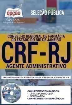 Apostila CRF-RJ Agente Administrativo