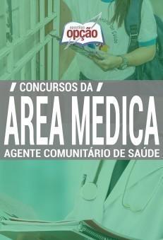 Apostila Agente Comunitário De Saúde - Concurso Série Médica...