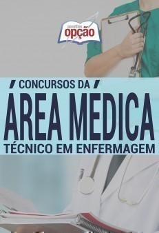 Apostila area medica para Técnico de Enfermagem.
