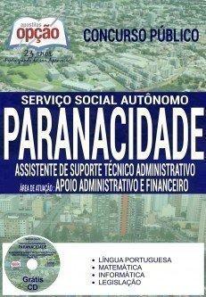 ASS. DE SUPORTE TÉCNICO ADM - APOIO ADM E FINANCEIRO
