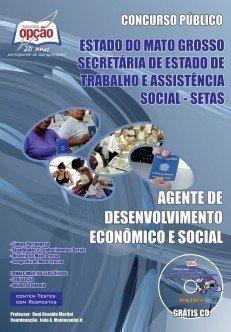 Apostila Agente De Desenvolvimento Econômico E Social - Concurso Setas-mt...