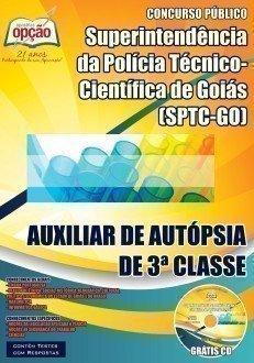 AUXILIAR DE AUTÓPSIA DE 3ª CLASSE