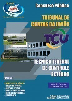 Apostila Técnico Federal De Controle Externo - Vol I - Concurso Tribunal De Con...