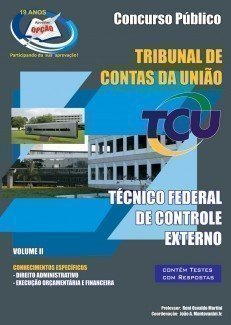 Apostila Técnico Federal De Controle Externo - Vol Ii - Concurso Tribunal De Co...