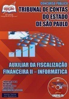 Apostila TCE São Paulo Agente de Fiscalização especialidade Tecnologia da Informação