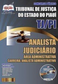 ANALISTA JUDICIÁRIO - ÁREA ADM. - ANALISTA ADMINISTRATIVO