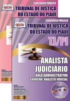 ANALISTA JUDICIÁRIO - ÁREA ADMINISTRATIVA - ANALISTA JUDICIAL