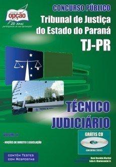 Apostila Técnico Judiciário - Volume Ii - Concurso Tribunal De Justiça Do Est...