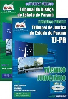 Apostila Tribunal de Justiça do Paraná Técnico Judiciário - TJ PR