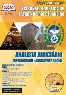 ANALISTA JUDICIÁRIO: ASSISTENTE SOCIAL