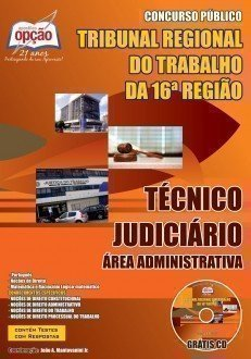 Apostila TRT 16ª Região 2017