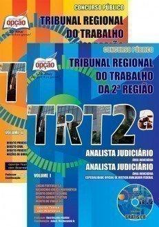 Apostila TRT2ª Região - Técnico Judiciário - Área Administrativa.
