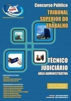 Apostila Técnico Judiciário - área Administrativa - Concurso Tribunal Superio...