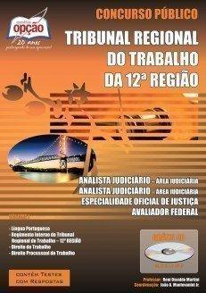 Apostila Analista Judiciário - área Judiciária (volume I) - Concurso TRT 12ª...