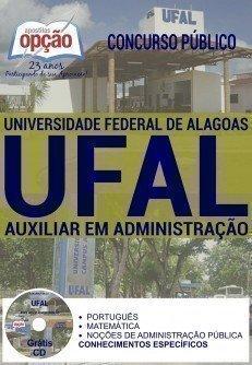 Apostila Ufal 2016 AUXILIAR EM ADMINISTRAÇÃO