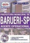 Concurso Prefeitura de Barueri SP 2017 - AGENTE OPERACIONAL