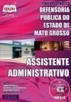 Defensoria P�blica do Estado / MT - ASSISTENTE ADMINISTRATIVO
