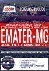 EMATER / MG ASSISTENTE ADMINISTRATIVO II