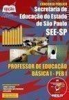 Secretaria de Estado da Educa��o de S�o Paulo - PROFESSOR DE EDUCA��O B�SICA I