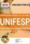 UNIFESP ASSISTENTE EM ADMINISTRA��O