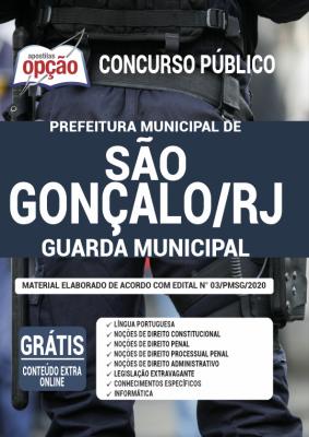 Apostila Concurso Prefeitura de São Gonçalo 2020